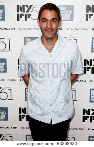 NEW YORK-OCT 1: Director Fernando Eimbcke attends the 'Jimmy P: Psychotherapy Of A Plains Indian' premiere during the New York Film Festival at Alice Tully Hall on October 1, 2013 in New York City.