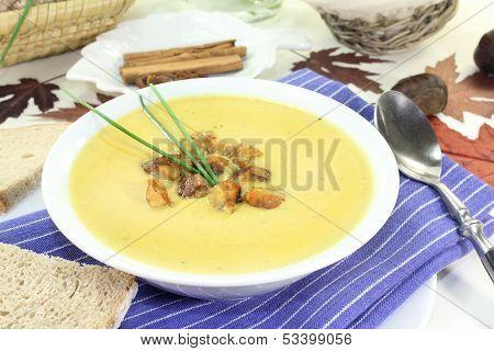 Sweet Chestnut Soup