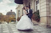 stock photo of fiance  - Wedding couple - JPG