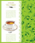 Beautiful Tea time template