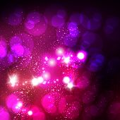 glitter lights abstract Christmas background