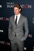 NEW YORK- OCT 24: Actor Josh Pence attends the premiere of Canon's 'Project Imaginat10n' Film Festiv