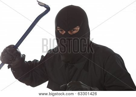 Thief With A Crowbar