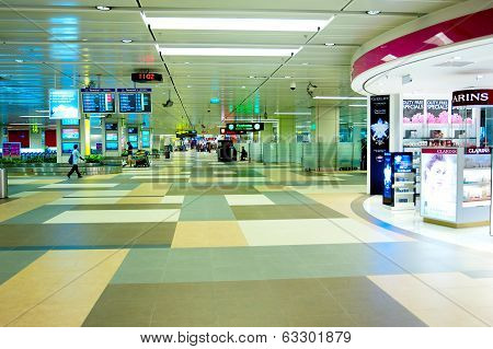 Hall At Changi International Airport