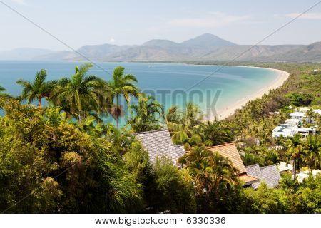 Port Douglas Beach On Sunny Day