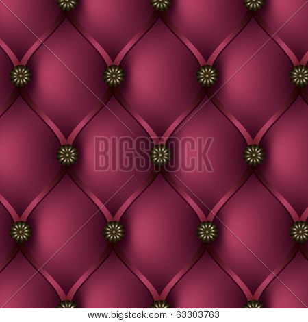 Buttoned Pink Background
