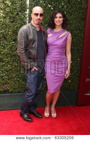 LOS ANGELES - APR 13:  Morena Baccarin at the John Varvatos 11th Annual Stuart House Benefit at  John Varvatos Boutique on April 13, 2014 in West Hollywood, CA