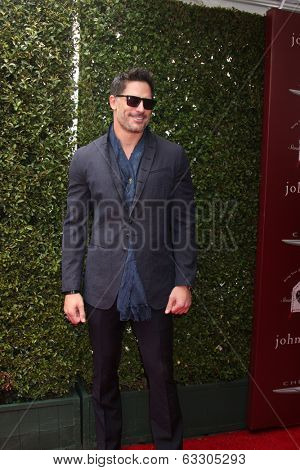 LOS ANGELES - APR 13:  Joe Manganiello at the John Varvatos 11th Annual Stuart House Benefit at  John Varvatos Boutique on April 13, 2014 in West Hollywood, CA