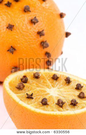 naranja de Navidad