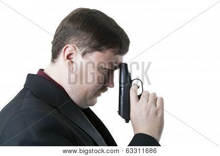 Man Holding A Pistol 2