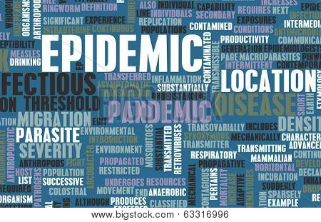 Epidemic as Outbreak of Infectious Disease as Art