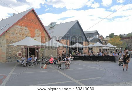Salamanca Place Hobart Australia