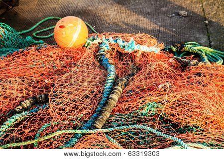Fishing Net Orange Fishnet Outdoor