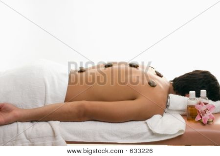 Male Thermal Stone Spa Treatment