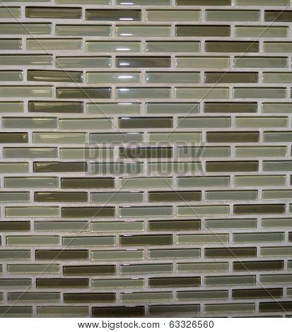 Glass Tiled Kitchen Backwash