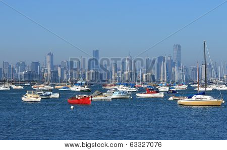 Melbourne and habour