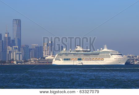 Cruise ship Melbourne