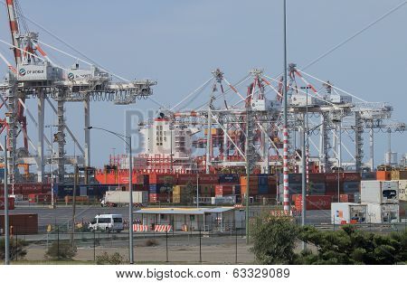 Port of Melbourne dock