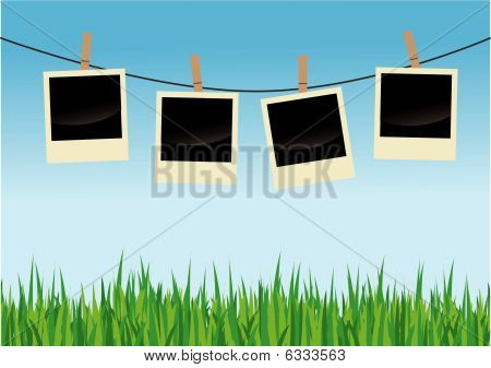 On Clothes Line