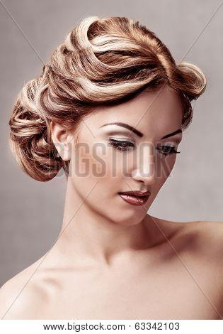 beauty lady portrait