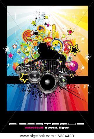 Techno Discoteque Flyer