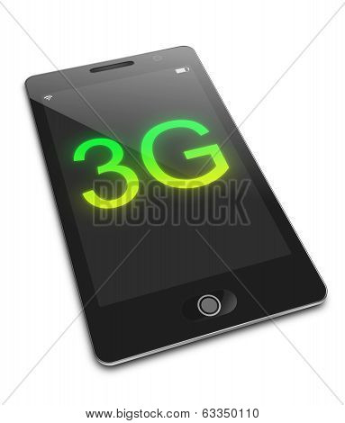 Mobile 3G Concept.