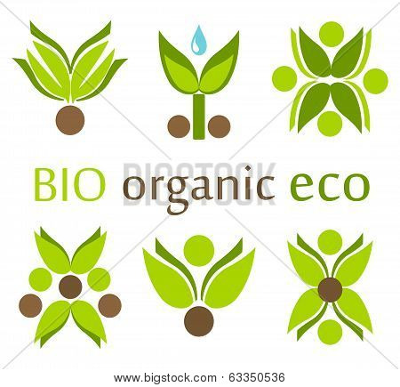 Organic, Eco Symbols