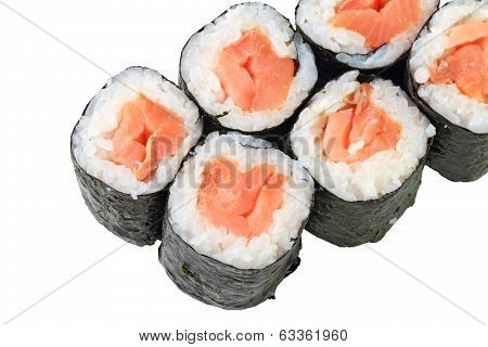 Rolls With Smoked Salmon