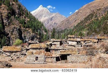 Pungmo Village - Lower Dolpo - Western Nepal