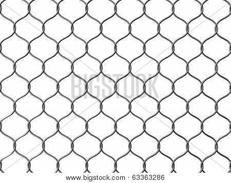 wire net wall