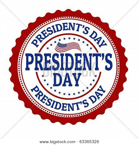 President's Day Stamp