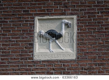 Decoration On Amsterdam Canal House