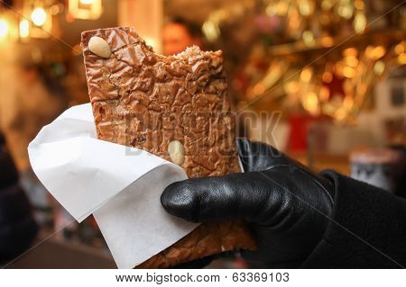 Gingerbread at the Christmas Market