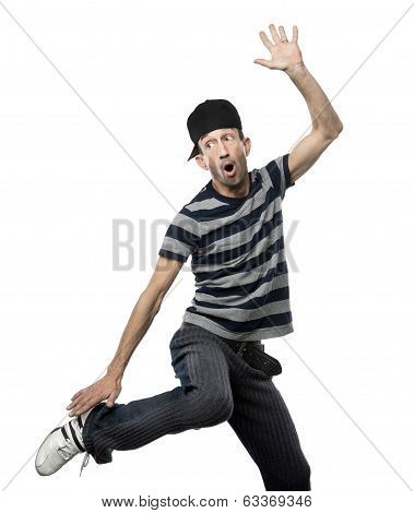 Man Doing Hip Hop