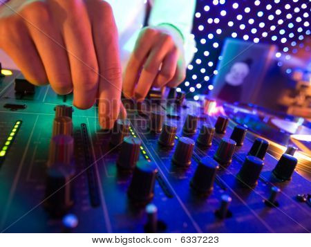 Mixer In Nightclub