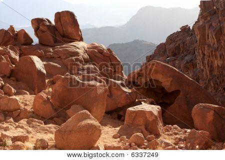 Mount Sinai At Sunrise