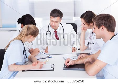 Meeting Of Doctors
