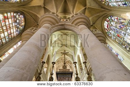 Saint Etienne du mont church, Paris, France