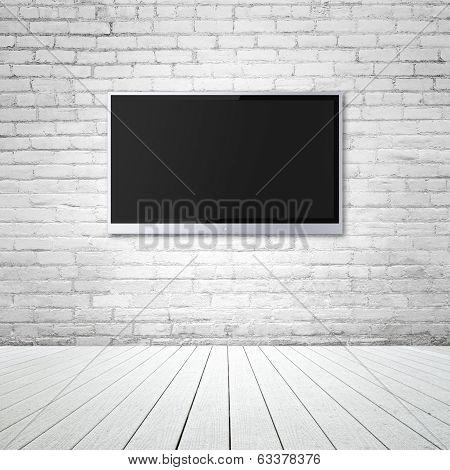 Blank Wide Screen Tv