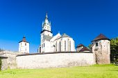 castle and church of Saint Catherine, Kremnica, Slovakia