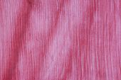 Wavy Pink Fabric With Striped Texture