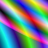 Background blur of neon rainbow tubes