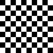 stock photo of chessboard  - Checkered Background chessboard or checkerboard - JPG