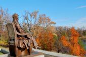 Постер, плакат: Авраам Линкольн памятник в осень