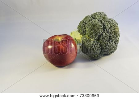Apple and Broccoli