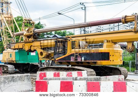 Drill Rig Vehicle