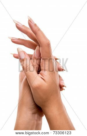 Beautiful Woman's Hands
