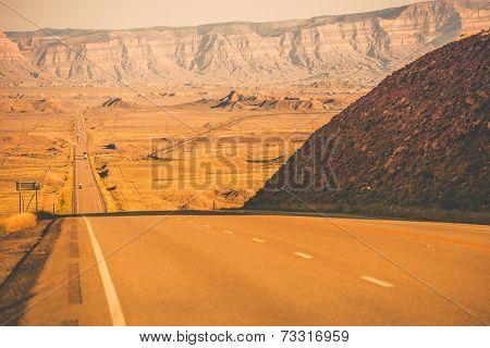 Utah Desert Highway