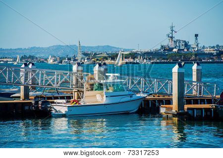 San Diego Bay Marina