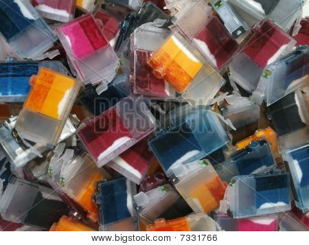 Ink Cartridge Mountain